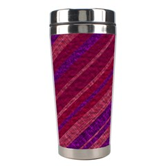 Stripes Course Texture Background Stainless Steel Travel Tumblers by Nexatart