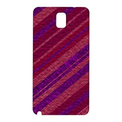 Stripes Course Texture Background Samsung Galaxy Note 3 N9005 Hardshell Back Case by Nexatart