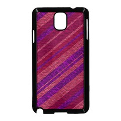 Stripes Course Texture Background Samsung Galaxy Note 3 Neo Hardshell Case (black)