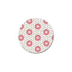 Stamping Pattern Fashion Background Golf Ball Marker (4 Pack) by Nexatart