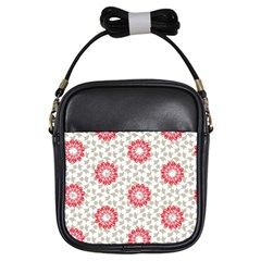 Stamping Pattern Fashion Background Girls Sling Bags by Nexatart
