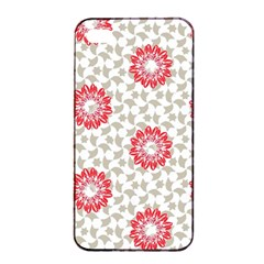 Stamping Pattern Fashion Background Apple Iphone 4/4s Seamless Case (black) by Nexatart