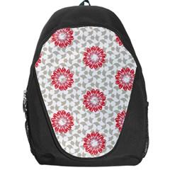 Stamping Pattern Fashion Background Backpack Bag by Nexatart