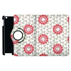 Stamping Pattern Fashion Background Apple Ipad 2 Flip 360 Case by Nexatart