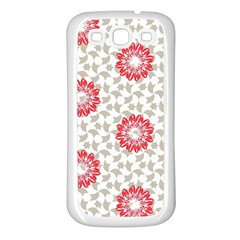Stamping Pattern Fashion Background Samsung Galaxy S3 Back Case (white) by Nexatart