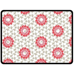 Stamping Pattern Fashion Background Double Sided Fleece Blanket (large)