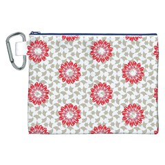 Stamping Pattern Fashion Background Canvas Cosmetic Bag (xxl) by Nexatart