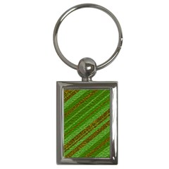 Stripes Course Texture Background Key Chains (rectangle)