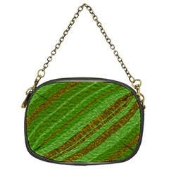 Stripes Course Texture Background Chain Purses (one Side)
