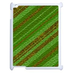 Stripes Course Texture Background Apple Ipad 2 Case (white)
