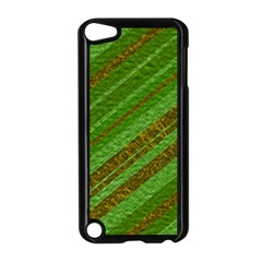 Stripes Course Texture Background Apple Ipod Touch 5 Case (black) by Nexatart