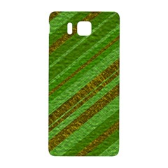 Stripes Course Texture Background Samsung Galaxy Alpha Hardshell Back Case by Nexatart