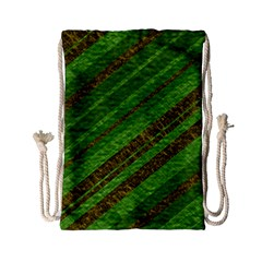 Stripes Course Texture Background Drawstring Bag (small)