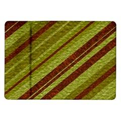 Stripes Course Texture Background Samsung Galaxy Tab 10 1  P7500 Flip Case