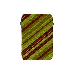 Stripes Course Texture Background Apple Ipad Mini Protective Soft Cases by Nexatart
