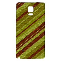 Stripes Course Texture Background Galaxy Note 4 Back Case by Nexatart