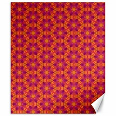 Pattern Abstract Floral Bright Canvas 20  X 24   by Nexatart