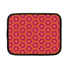 Pattern Abstract Floral Bright Netbook Case (small)  by Nexatart