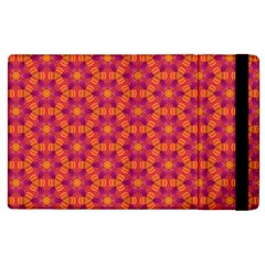 Pattern Abstract Floral Bright Apple Ipad 2 Flip Case by Nexatart