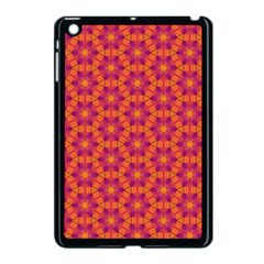 Pattern Abstract Floral Bright Apple Ipad Mini Case (black)