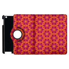 Pattern Abstract Floral Bright Apple Ipad 3/4 Flip 360 Case by Nexatart