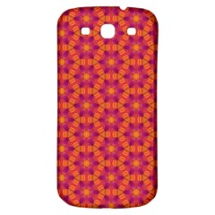 Pattern Abstract Floral Bright Samsung Galaxy S3 S Iii Classic Hardshell Back Case by Nexatart