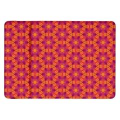 Pattern Abstract Floral Bright Samsung Galaxy Tab 8 9  P7300 Flip Case by Nexatart