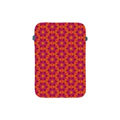 Pattern Abstract Floral Bright Apple Ipad Mini Protective Soft Cases by Nexatart