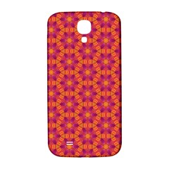 Pattern Abstract Floral Bright Samsung Galaxy S4 I9500/i9505  Hardshell Back Case by Nexatart