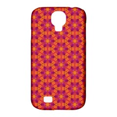 Pattern Abstract Floral Bright Samsung Galaxy S4 Classic Hardshell Case (pc+silicone) by Nexatart