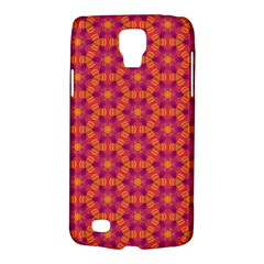 Pattern Abstract Floral Bright Galaxy S4 Active