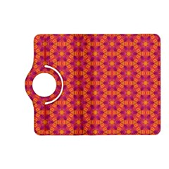 Pattern Abstract Floral Bright Kindle Fire Hd (2013) Flip 360 Case by Nexatart