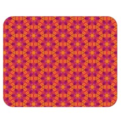 Pattern Abstract Floral Bright Double Sided Flano Blanket (medium)