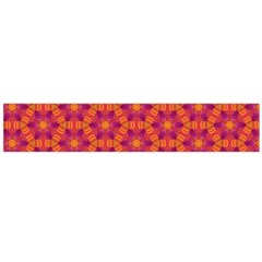 Pattern Abstract Floral Bright Flano Scarf (large) by Nexatart