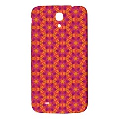 Pattern Abstract Floral Bright Samsung Galaxy Mega I9200 Hardshell Back Case by Nexatart