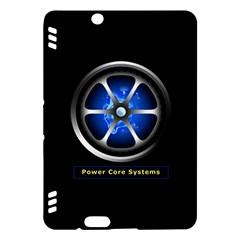 Power Core Kindle Fire Hdx Hardshell Case by linceazul