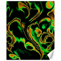 Glowing Fractal A Canvas 16  X 20   by Fractalworld