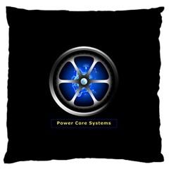 Power Core Large Flano Cushion Case (one Side)