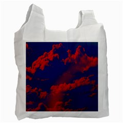 Sky Pattern Recycle Bag (one Side) by Valentinaart