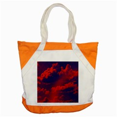 Sky Pattern Accent Tote Bag by Valentinaart