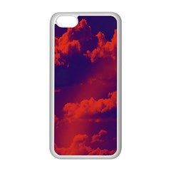 Sky Pattern Apple Iphone 5c Seamless Case (white) by Valentinaart