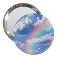 Sky Pattern 3  Handbag Mirrors by Valentinaart