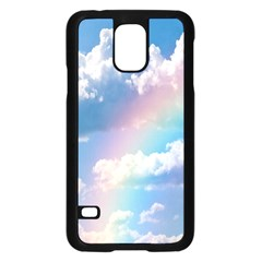Sky Pattern Samsung Galaxy S5 Case (black) by Valentinaart