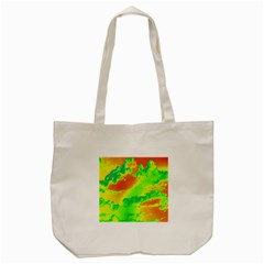 Sky Pattern Tote Bag (cream) by Valentinaart
