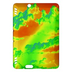 Sky Pattern Kindle Fire Hdx Hardshell Case by Valentinaart