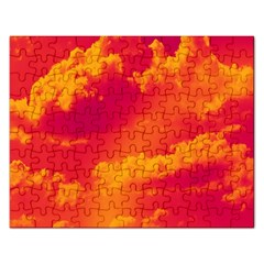 Sky Pattern Rectangular Jigsaw Puzzl by Valentinaart