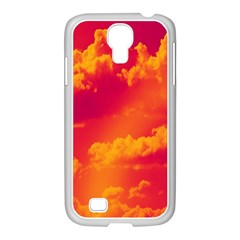 Sky Pattern Samsung Galaxy S4 I9500/ I9505 Case (white) by Valentinaart