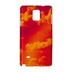 Sky Pattern Samsung Galaxy Note 4 Hardshell Case by Valentinaart