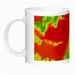 Sky Pattern Night Luminous Mugs by Valentinaart