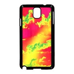 Sky Pattern Samsung Galaxy Note 3 Neo Hardshell Case (black) by Valentinaart